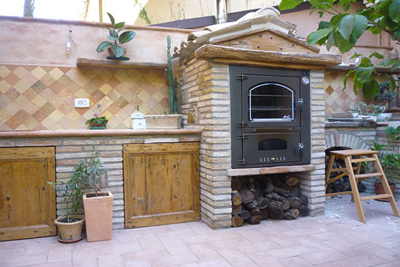 Giove Box Jolly KJI outdoor pizza oven