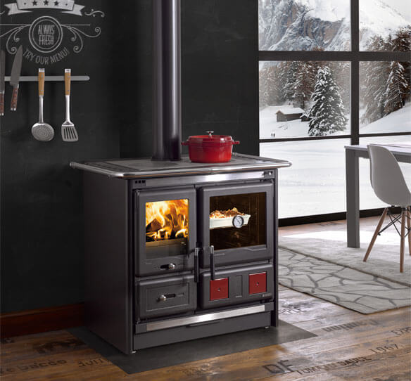 la nordica rosa L wood cook stove