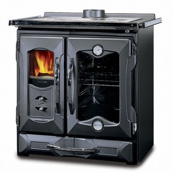 la nordica suprema wood cook stove